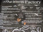 Lid of worm bin